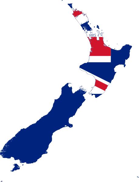 Study in New Zealand map mindmaker.in